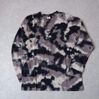 TIGRE BROCANTE (ティグルブロカンテ)/注染camo Crew Neck Long Sleeve /black