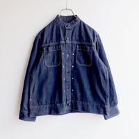 TIGRE BROCANTE (ティグルブロカンテ)/10オンスデニムバータックシャツジャケット