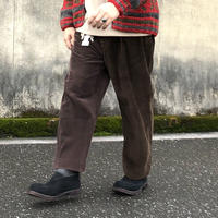 "Sunny side up(サニーサイドアップ)/Unisex Remake 2 For 1 ""Codyroy Trousers ""brown size4-2"