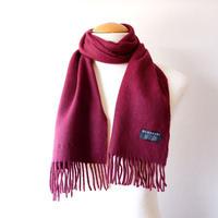 Burberrys (バーバリー)/ソリッド マフラー/cashmere100% /Made In England/Burgundy