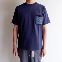 Jackman(ジャックマン)/Jackman × Lavenham 度詰T-Shirt/ Harbour Blue