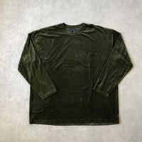 TIGRE BROCANTE (ティグルブロカンテ)/Cat Velour Venice Beach L/ST/khaki