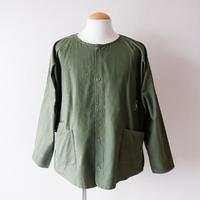 SLOW HANDS(スローハンズ)/Rcl tent painter jacket/Olive-L