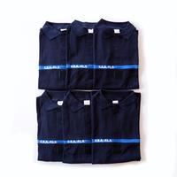 フランス警察 ネイビー/ブルーライン C.E.A.-F.L.S. ポロシャツ(新品 実物 ポリス)