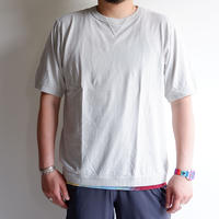 【一滴/Drop】Jackman(ジャックマン)/Rib T-Shirt/Drop Blue
