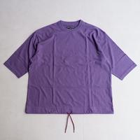 TIGRE BROCANTE (ティグルブロカンテ)/20コーマ天竺ボースン半袖T/purple gray