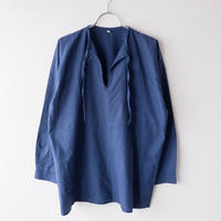【FROM EURO】old euro work pullover shirt/used/PO-8