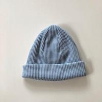 Jackman(ジャックマン)/ Waffle Knit Cap  sax blue