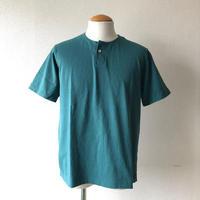 【期間限定SALE】Jackman(ジャックマン)/Henley neck T-Shirt/aqua