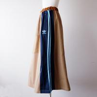【別注 Ladys】masterkey(マスターキー)/Walk Around/マキシロングスカート/beige