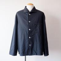 【ドイツ軍】sleeping shirt/スリーピングシャツ/pajamas shirt/overdye/black