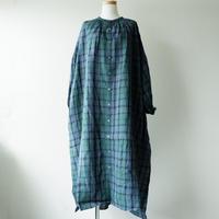 UNIVERSAL TISSU (ユニバーサルティシュ)/チェック ギャザーシャツドレス/261ブラックウォッチ