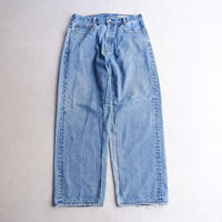 MADE  by Sunny side up(サニーサイドアップ)/Remake wide denim /blue/size4