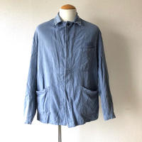 【FROM EURO】OLD EURO WORK JACKET/3釦/blue grey
