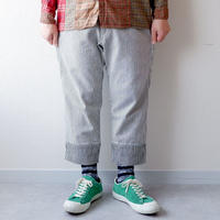 【最後の1着/size:S】Thinq/ WORQ PAINTER MAN /HICKORY