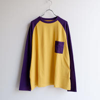TIGRE BROCANTE (ティグルブロカンテ)/Venice Beach Raglan L/S Tee/yellow