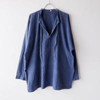 FROM EURO】old euro work pullover shirt/used/PO-6