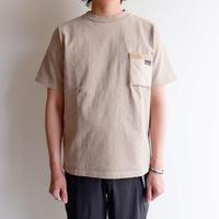 Jackman(ジャックマン)/Jackman X Lavenham 度詰T-Shirt/ Natural Clay