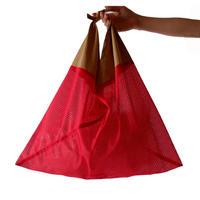 AZUMA BAG(アズマバッグ) MESH/red×beige
