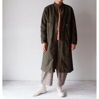 TIGRE BROCANTE(ティグルブロカンテ)/ヴィンテージネルドクターシャツコート カーキ