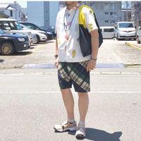 ☆夏のリラックスパンツ☆weac.(ウィーク)/relax easy short pants/navy