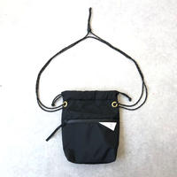 【ワンタッチで開く巾着バッグ/ジッパー付き】LIVERAL(リベラル)/Enjyu2/ Nylon 840