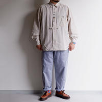 【 FROM EURO】Old Tyrolean Long-sleeve shirt/1-2