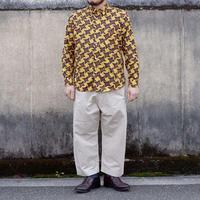 TIGRE BROCANTE(ティグルブロカンテ)/手裏剣柄レギュラー長袖シャツ