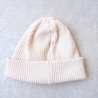 Jackman(ジャックマン)/ Waffle Knit Cap/Shell Pink