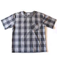weac.(ウィーク)/ティー&ティーシャツ グレーチェック