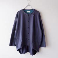 SLOW HANDS(スローハンズ)/CYCLE CARDIGAN /Navy