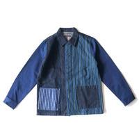 TIGRE BROCANTE(ティグルブロカンテ)/ミックスデニムシャツジャケット