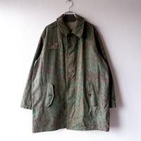 【秋のミリタリー】チェコスロバキア軍 /レインドロップカモジャケット/used/B