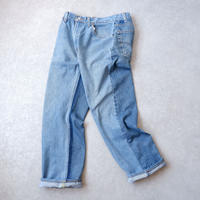 MADE by Sunny side up(サニーサイドアップ)/ 2for1 remake denim/front×Blue/size3