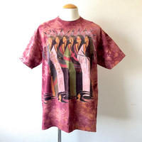 【FROM USA】tie-dye print T-shirt /used/USA/T-15