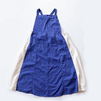 ナプロン NAPRON (Lady's) EURO KITCHEN APRON SKIRT/blue