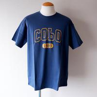 【CONICHIWA bonjour/コンニチワボンジュール】Tシャツ/COBO/ネイビー