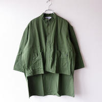 Remake by catta-05/ Swedish Military Shirts/Khaki-2