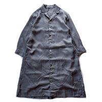 UNIVERSAL TISSU (ユニバーサルティシュ)/リネンボイル シャツドレス