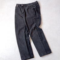 MADE  by Sunny side up(サニーサイドアップ)/ 2for1 remake denim/front×back/black/size4
