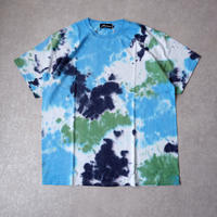 【tie-dye】 Nasngwam (ナスングワム) /EARTH TEE /MORNING /DEEP SEA /Blue