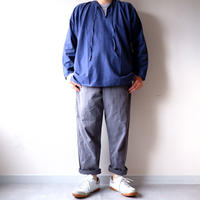 【FROM EURO】old euro work pullover shirt/used/PO-7
