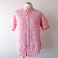 【FROM EURO】Brooks brothers short sleeve  linen shirt/used