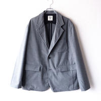 Jackman(ジャックマン)/Stretch Jacket/gray-herringbone
