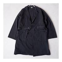 【Black-overdye】euro work tielocken coat