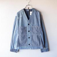 【期間限定SALE】SUNNY SIDE UP(サニーサイドアップ) /Remake engineer jacket/hickory/3-M
