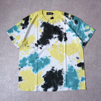 【tie-dye】 Nasngwam (ナスングワム) /EARTH TEE /MORNING FOREST/yellow