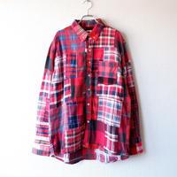 Nasngwam (ナスングワム) /SKELTER SHIRTS/RED/L-1