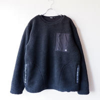LAST CHANCE(ラストチャンス)/Retro Boa Fleece Crew /Black