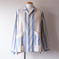 masterkey(マスターキー)/CUBA キューバシャツ/BLUE